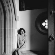 Vivienne in church 1979